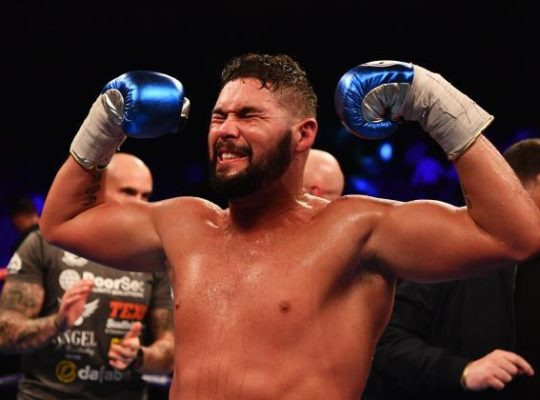 Tony Bellew: I Hit Harder Than Fury Who Won't Fight Me