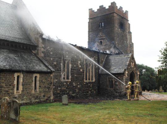 Fire Crews From Across Norfolk Battle Serious Blaze