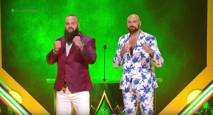Tyson Fury's Peculiar Fight With Strowman For WWE Fight Announced