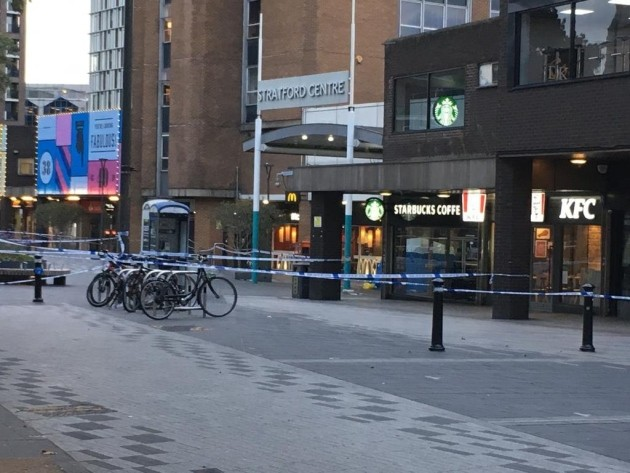 Met Police Hunting Down Murder Of School Boy Outside Shopping Centre