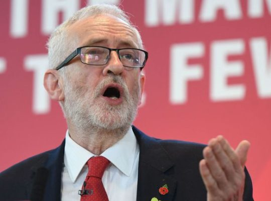 Corbyn Releases Outdated NHS Documents Aimed At Discrediting Johnson