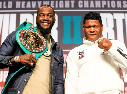 Wilder: With Confidence And Pride I Am The World's Best