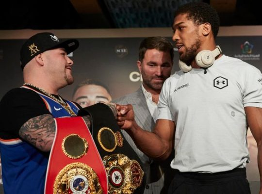 Anthony Joshua Insists Fire In His Belly Is Still Burning