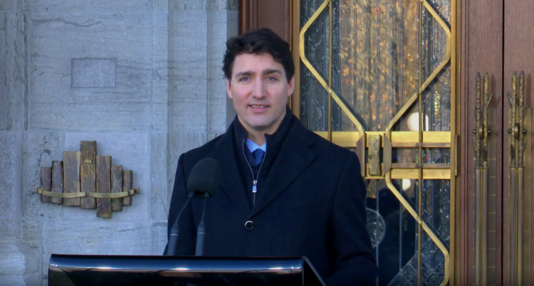 Canadian Prime Minister Defends Himself In Charity Scandal Investigation