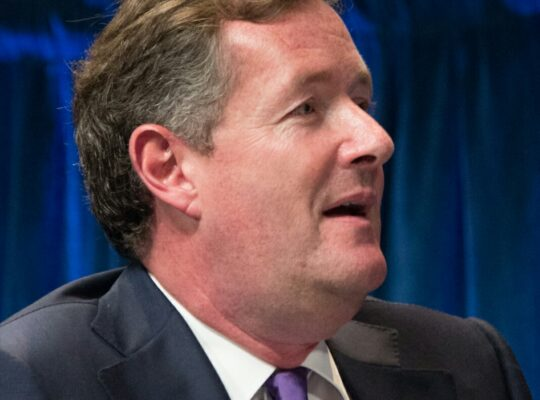 Piers Morgan  Arrogantly Vows To Over Step The Mark In Cummings Row