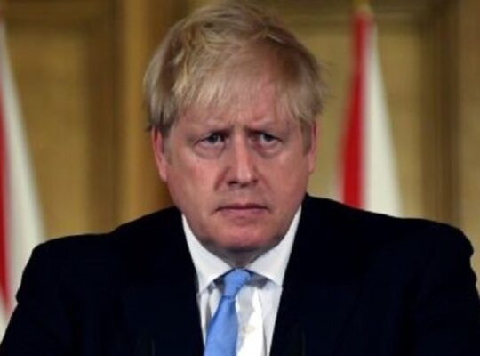 Boris Johnson Stresses Power Of Uk Coming Together