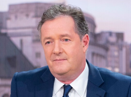Piers Morgan Has Emergency Alarm Fitted Over Death Threats