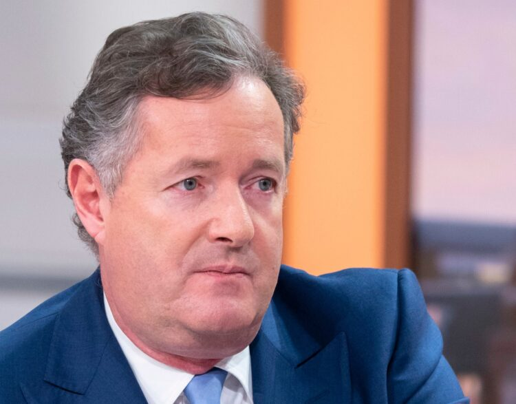 Piers Morgan Is Being Bullish With British Government Over Cummings