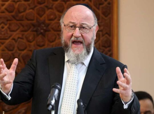 Wiley Row: Chief Rabbi Accuses Facebook And Twitter Of Complicity In Antisemitism