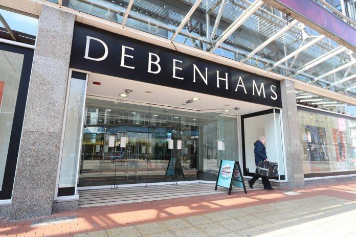Debenhams Workforce Face Liquidation Over Covid-19