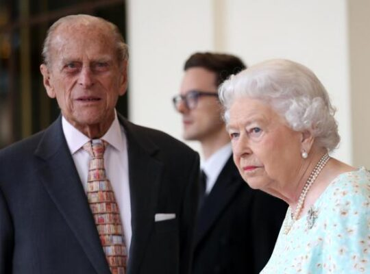 Queen and Philip arrive in Scotland for annual summer stay at Balmoral