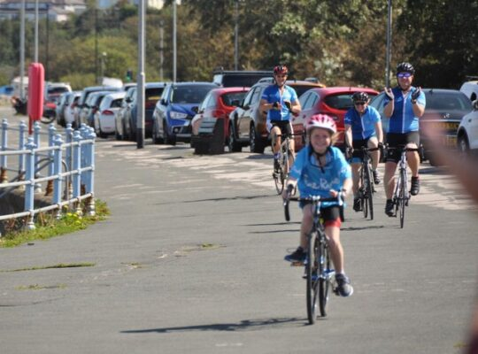 Impressive 8 Year Old Raises £1600 After Completing 29 Mile Charity Bike Ride