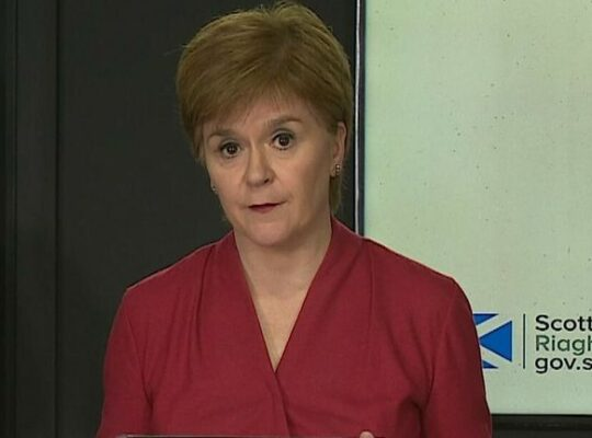 Nicola Sturgeon Considering Introducing Vaccine Passport For Scotland