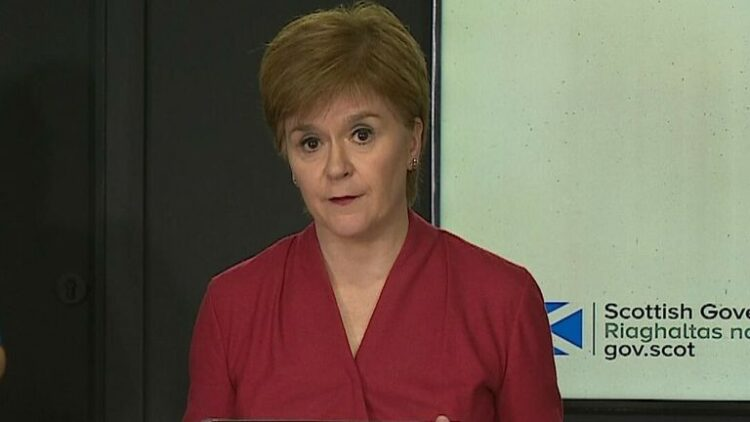 Ms Sturgeon Confirms Extended Lockdown For Aberdeen