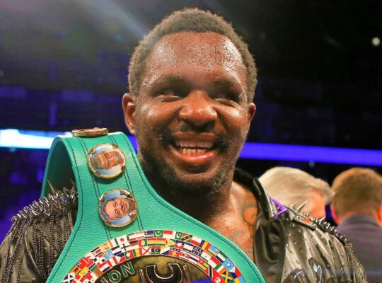 Whyte: Joshua And Fury Are Jokers For Staging Chance Meeting