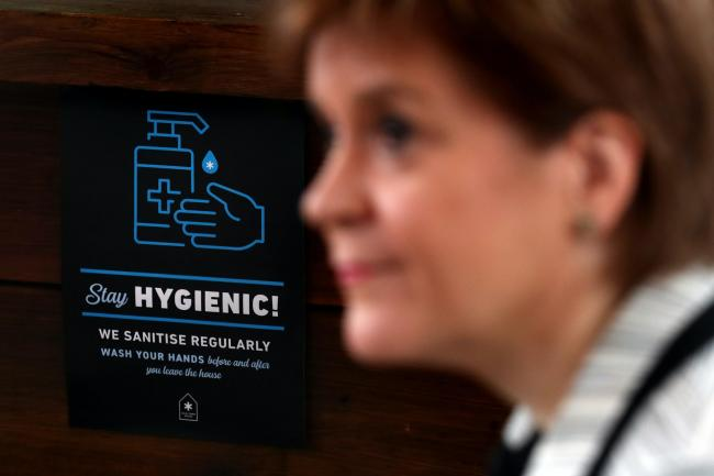Nicola Sturgeon Announces Ban On Household Visits