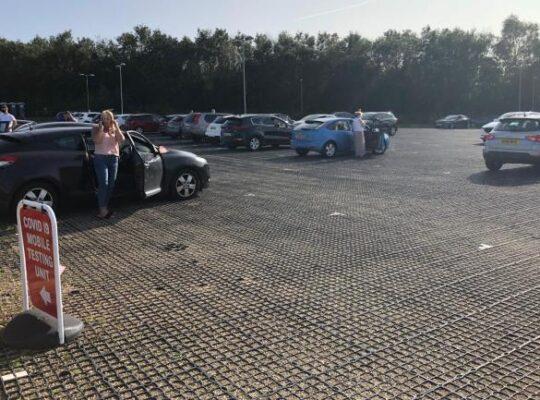 Dozens Who Booked Corona Test In England Meet Unstaffed Site