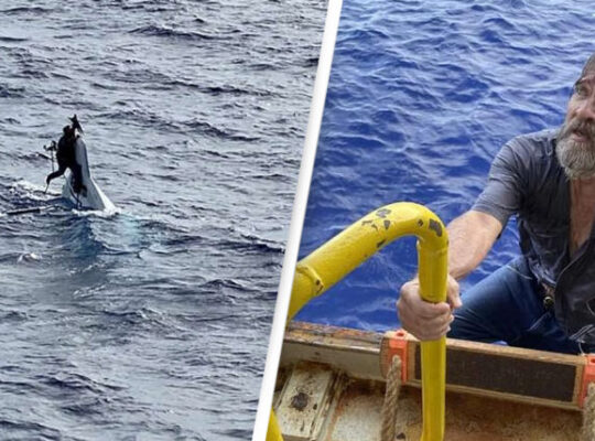 Sailor Found Clinging To Capsized Boat Two Days Later
