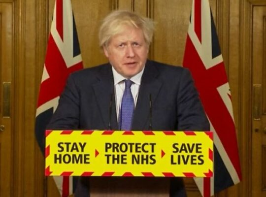 Johnson: Vaccinating Top Four Priority Groups Must Happen before Uk Lockdown Ease