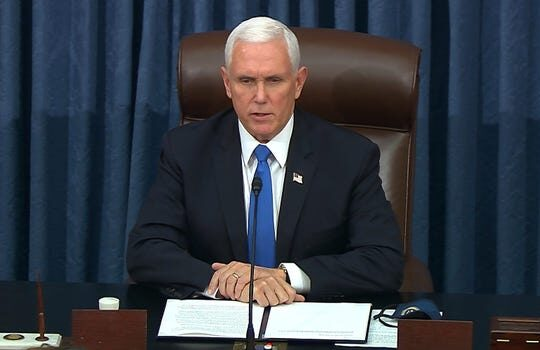 Mike Pence Given 24 hours to use 25th Amendment to remove Trump