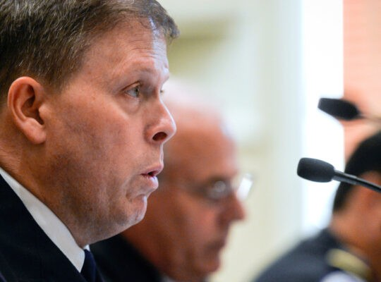 Former Chief Of U.S Police Says Request For National Guard Was Denied