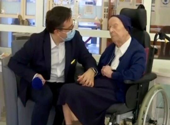 French Nun Of 117 Years Is Oldest Survivor Of Covid-19
