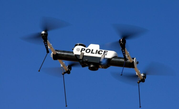 Police Can Use  Incredibly Artificial Intelligence Drones To Track Public  Movements