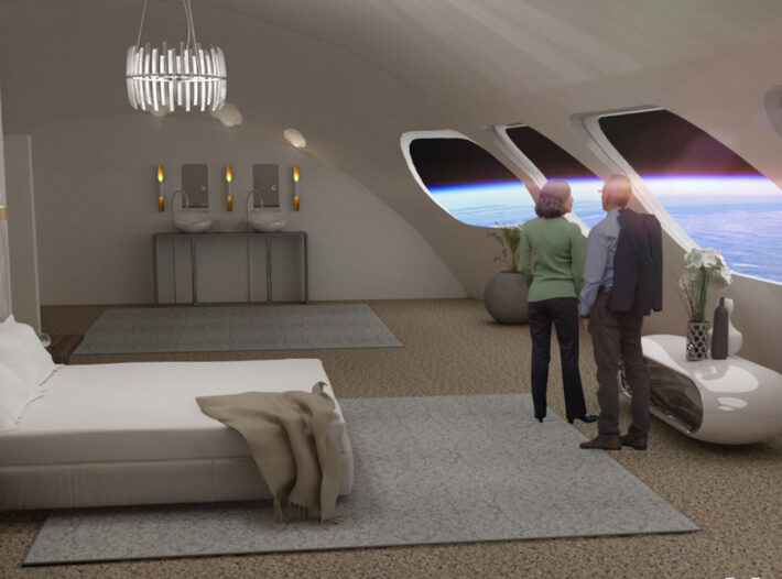 Visit To Space  Hotel Will Cost  £5m For Three Day Stay