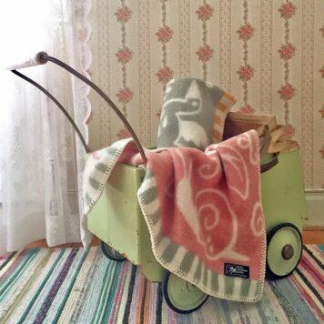 Taufgeschenk Babydecke BabygeschenkPlaid Kinderdecke Wolldecke Kindergeschenk Textil