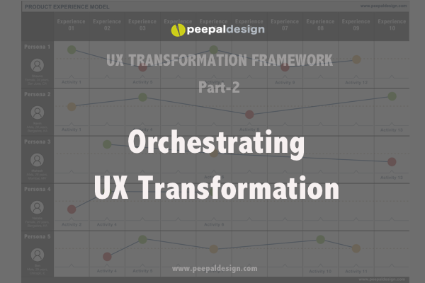 Orchestrating UX Transformation