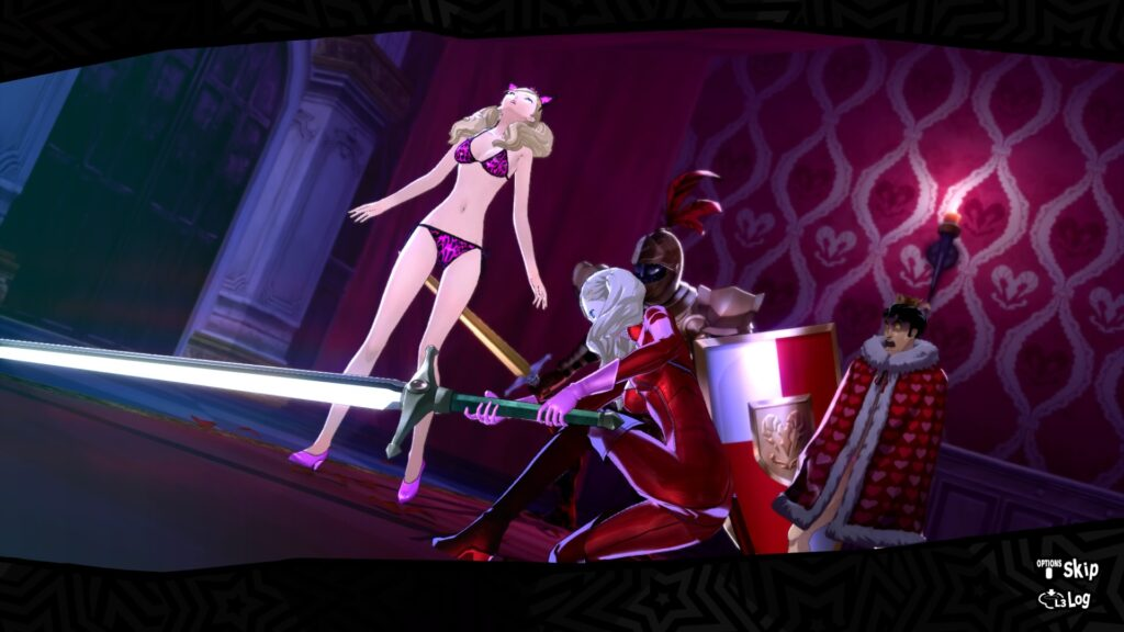 Persona 5 Royal Ann killing ann