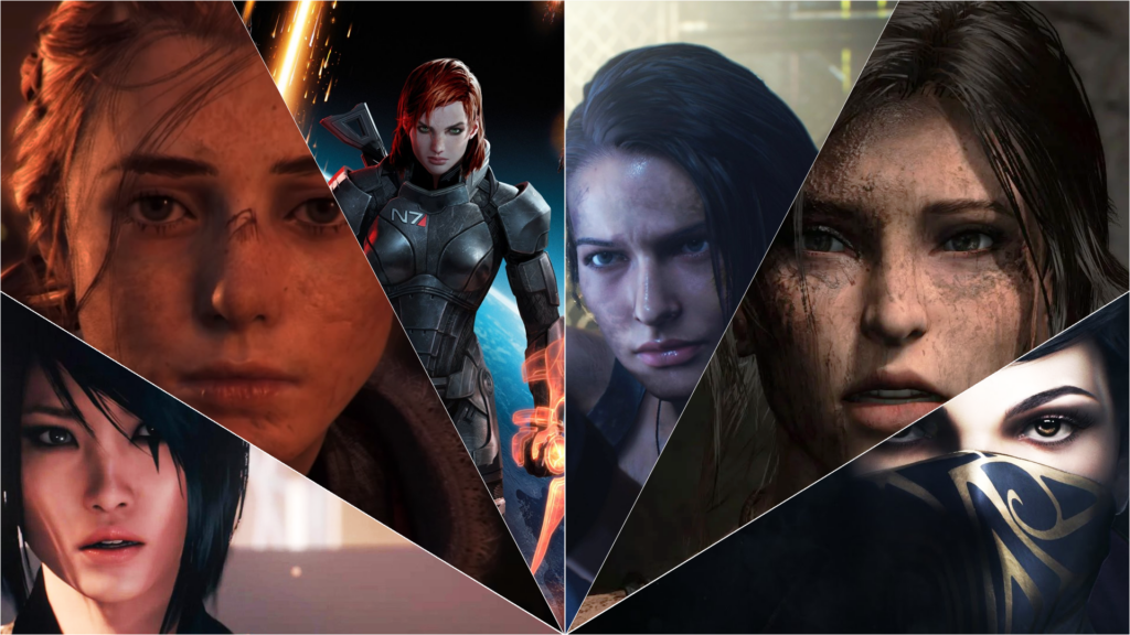 6 Heroines in Video Games feature