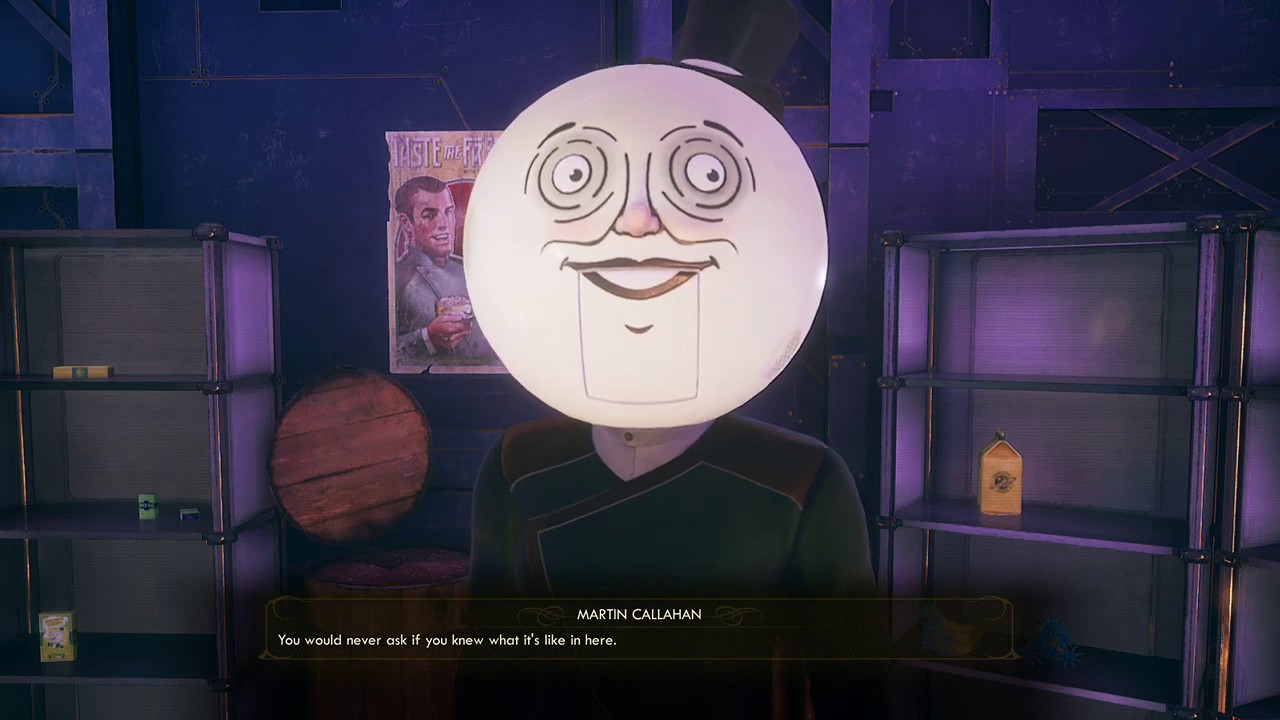 The Outer Worlds moonman