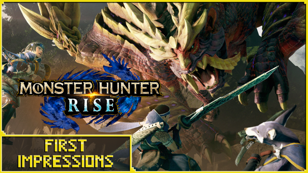 monster hunter rise main image