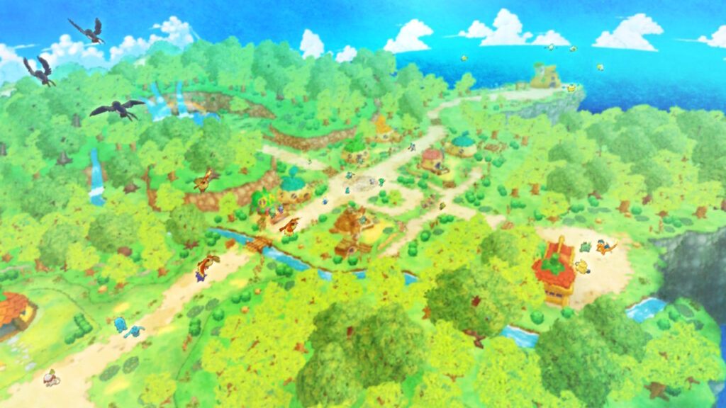 pokemon mystery dungeon dx top down