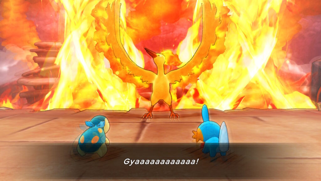 pokemon mystery dungeon dx moltres