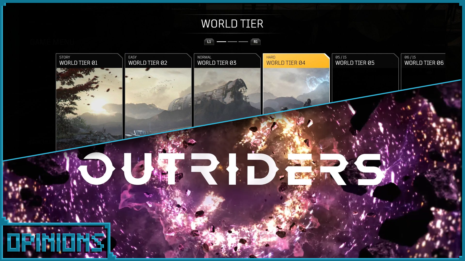 Outriders World Tier main image