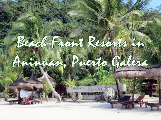 beach front resort puerto galera