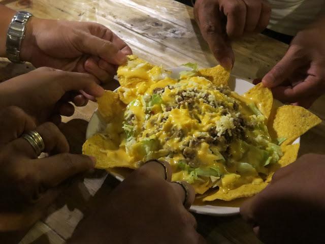 very cheesy tacos