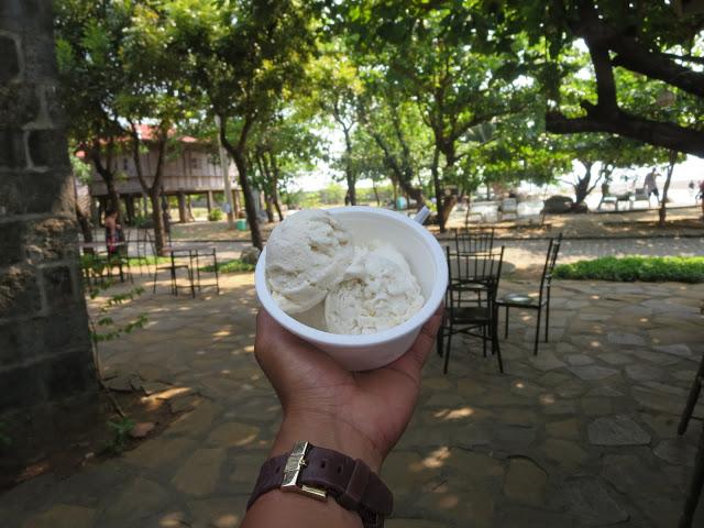 taste of taro ice cream