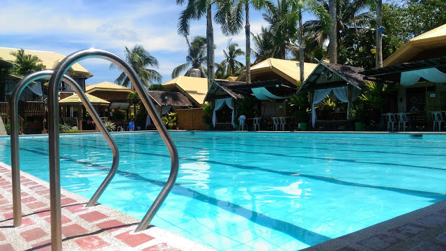 swimming pool agzam resort kalibo