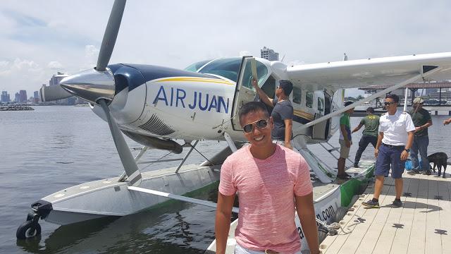 air juan seaplane manila philippines