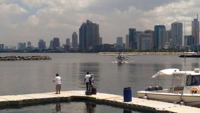 seaplane in manila bay