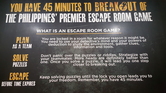 escape room game rules