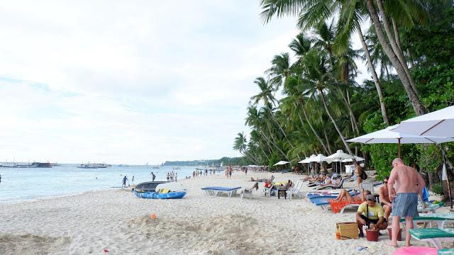 boracay white sand beach