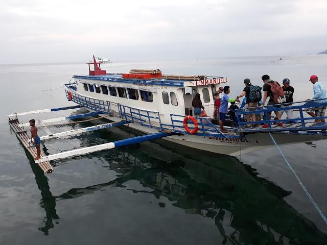 boat to masasa beach