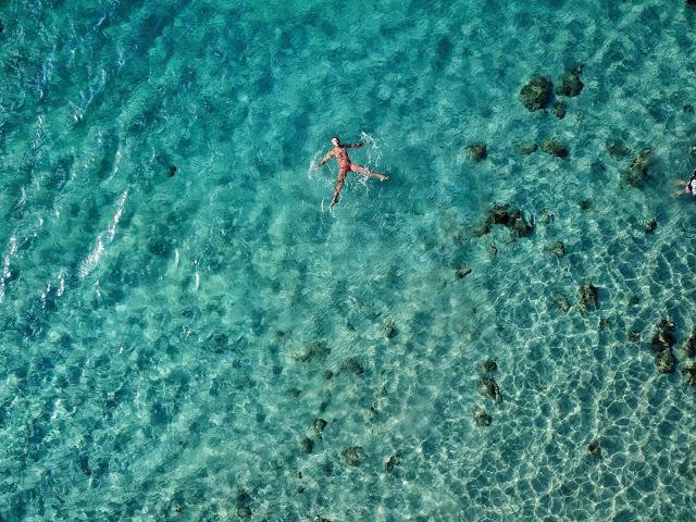 swimming masasa beach