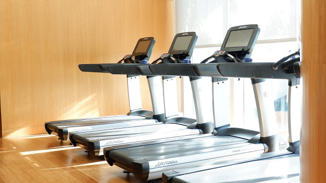 conrad hotel fitness gym