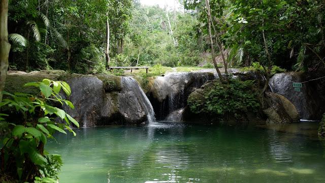 lagaan falls siquijor island