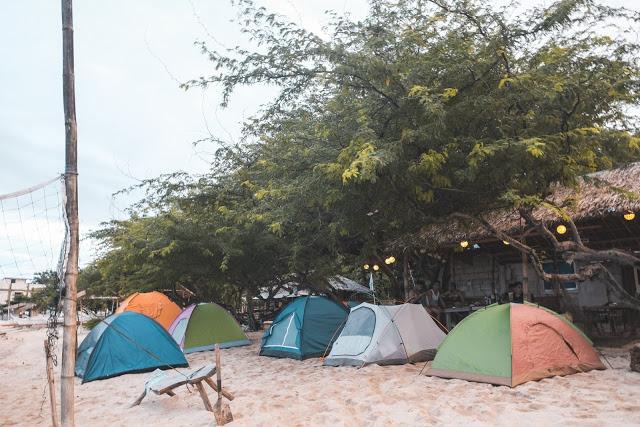 beach camping in batangas